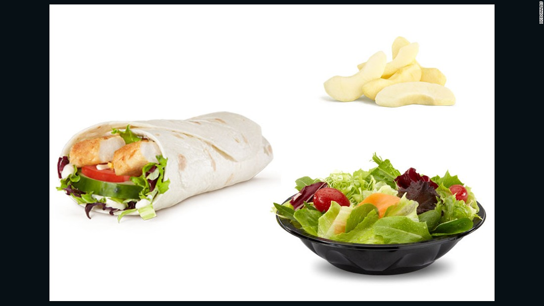 """I'd choose the Sweet Chili Chicken Wrap because it's grilled chicken, and I like chili/sweet sauces. It doesn't have the least amount of calories on the menu, but if I have to eat McDonald's, I don't want to eat it and still be hungry after. <br /><br />I'd round out the wrap with a fruit and side salad to transform it into balanced meal."" <br /><br />-- Marjorie Nolan Cohn, MS, RD, CDN, ACSM-HFS, National Spokesperson, Academy of Nutrition & Dietetics, Author of ""<a href=""http://www.amazon.com/The-Belly-Marjorie-Nolan-Cohn/dp/1609619668"" target=""_blank"">Belly Fat Fix</a>"""