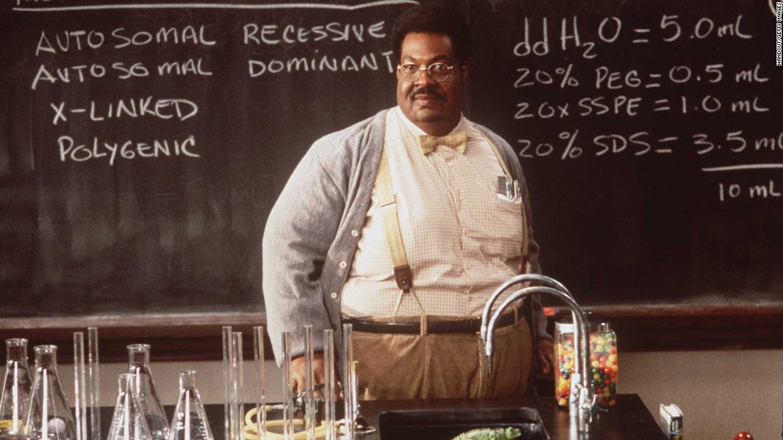 "<strong>""The Nutty Professor""</strong>:  Portly professor Sherman Klump gets more than he bargained for when he takes a massive dose of his weight-loss potion. <strong>(Netflix) </strong>"
