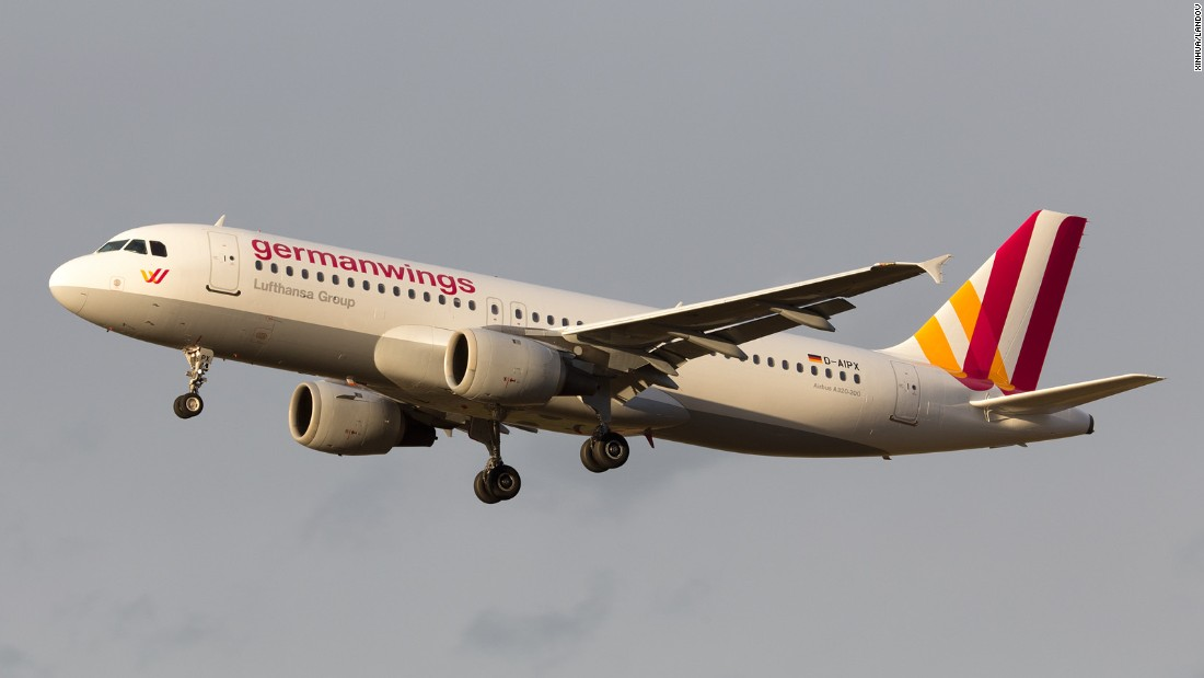 "This undated file photo shows the Germanwings<a href=""http://www.cnn.com/2015/03/24/travel/airbus-a320-profile-new/index.html""> Airbus A320</a> that crashed. Germanwings is a low-cost airline owned by the Lufthansa Group."