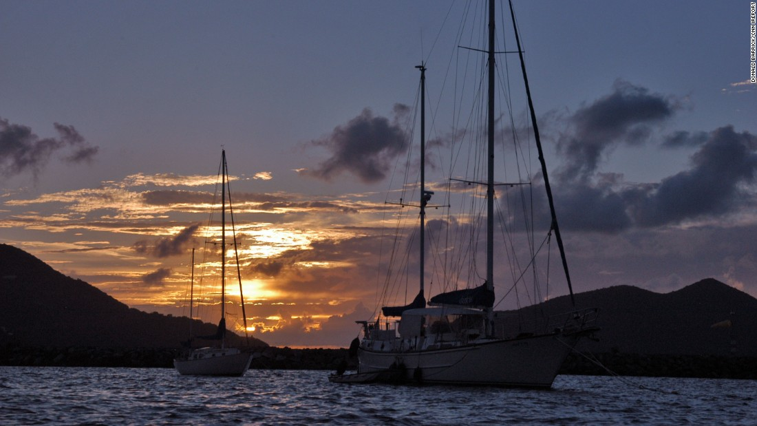 """A week on a catamaran in the British Virgin Islands ... all the islands melded together in memory, because location ceased to have any meaning, just for a week,"" wrote <a href=""http://ireport.cnn.com/docs/DOC-1220014"">iReporter Donald Barrick</a>. The British territory includes four larger islands and 32 smaller islands and islets (most of which are uninhabited)."