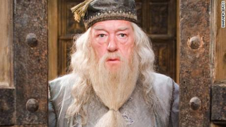 "Michael Gambon took over the role of Dumbledore in the later ""Potter"" films."