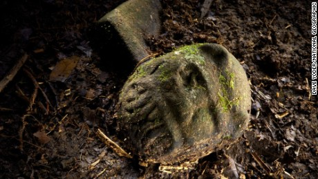 A National Geographic team says they found the remains of a lost civilization in the rainforests of Honduras.