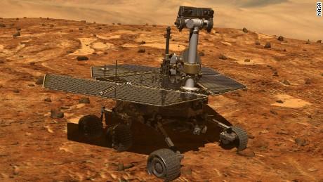 NASA's Opportunity rover celebrates Mars marathon milestone