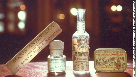 The pharmacy came to prominence in the 16th century when it created a scent for a future queen.