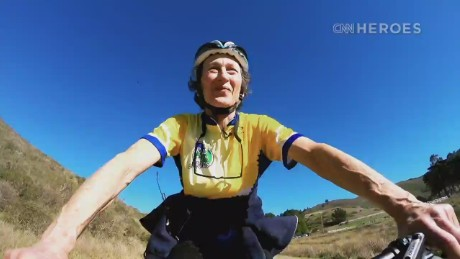 CNN Hero Marilyn Price shares her love of biking with children.
