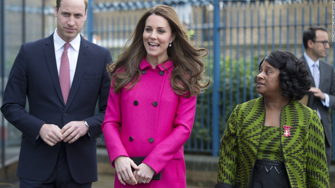 In March, William and Catherine visit a center dedicated to community learning in London.