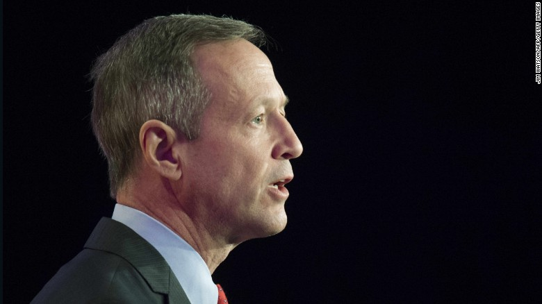 Martin O'Malley announce presidential run