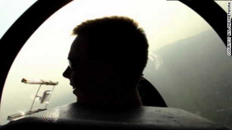 Video shows Andreas Lubitz flying a glider as a teen.