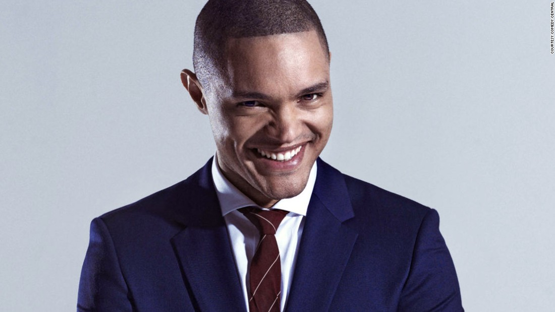 "Comedian Trevor Noah succeeded Jon Stewart as host of ""The Daily Show"" in September.<br />"
