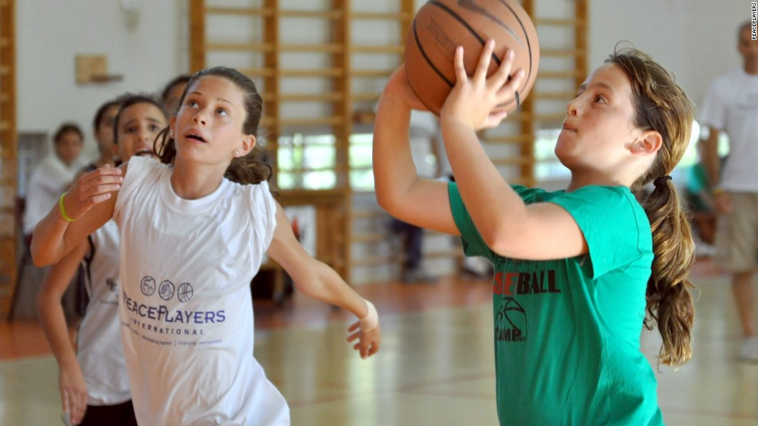 PeacePlayers International is an organization which uses basketball to bring youngsters together. It has programs in Israel, South Africa, Northern Ireland and Cyprus.