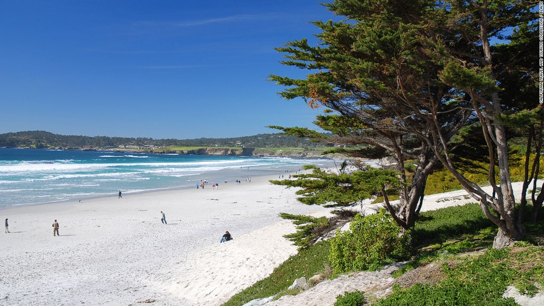 "Carmel bills itself as a ""European-style village"" overlooking a stretch of white-sand beach."