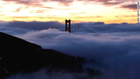 Coastal areas are prone to thick morning mists known as the marine layer.