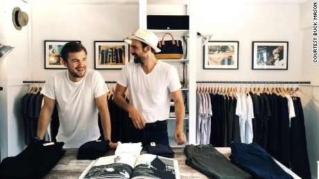 Buck Mason co-founders say they keep down the cost of their clothing by selling directly to customers.