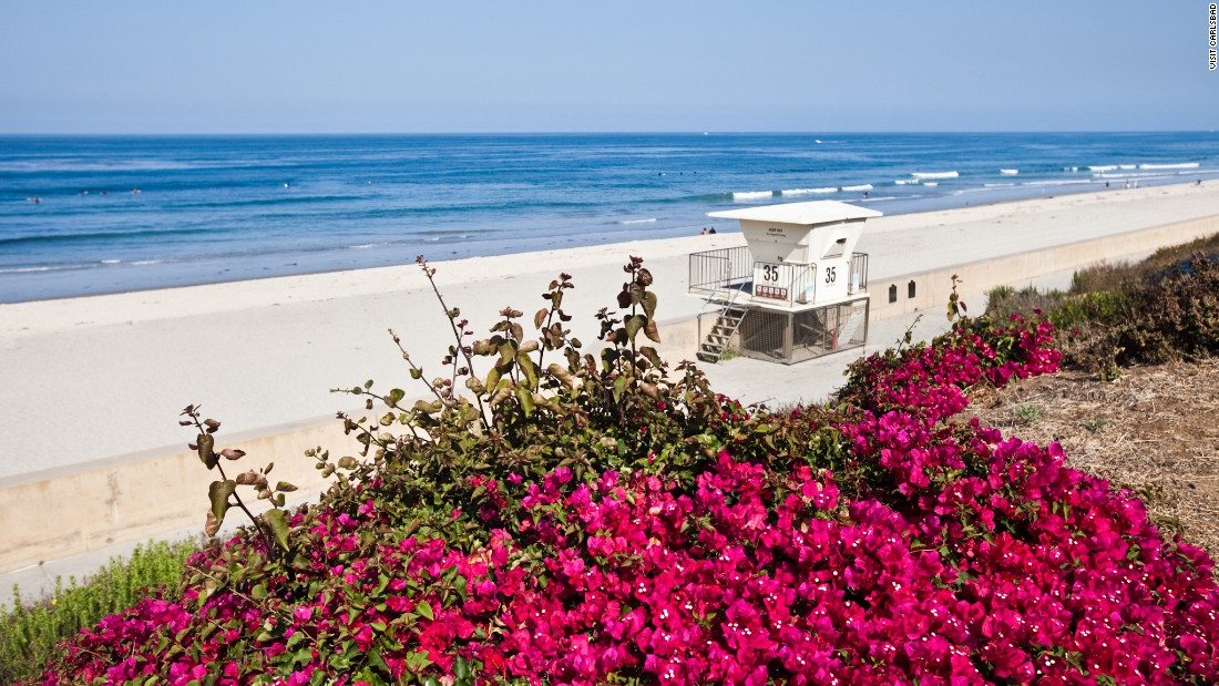 <strong>Carlsbad State Beach, California.</strong> Grab the free parking at Historic Highway 101 and visit this lovely beach in Carlsbad, California. The town offers family events throughout the year.