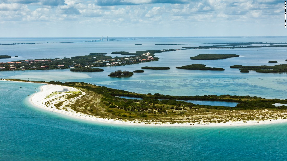 <strong>Fort De Soto Park, Florida</strong>. North Beach at this stunning St. Petersburg beach park is ideal for young and new swimmers.
