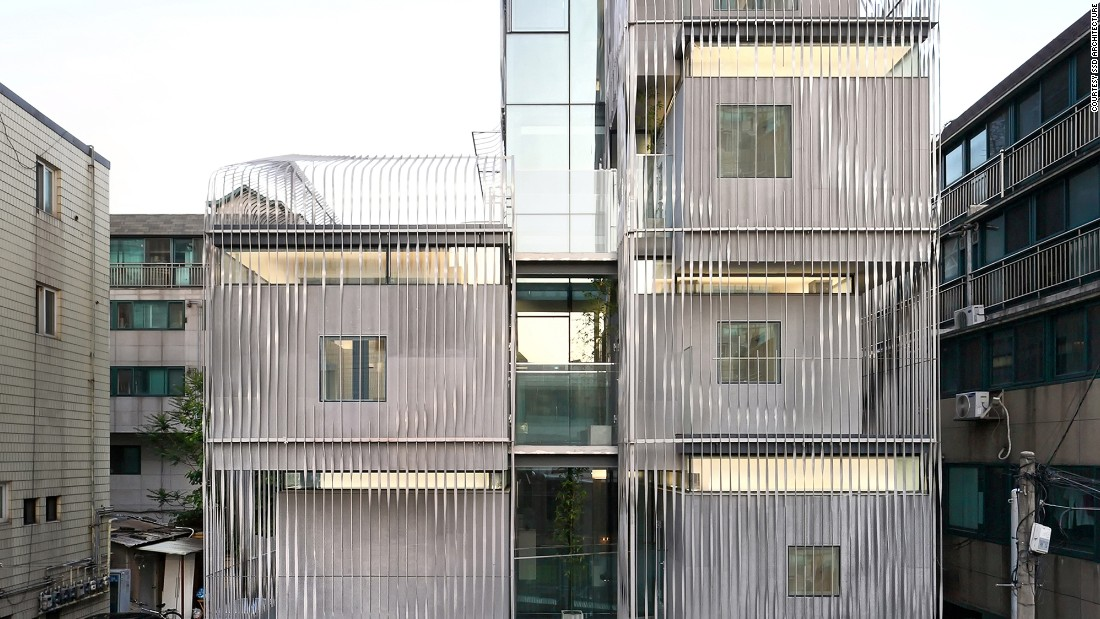 The new micro-housing complex in Songpa, an area of Seoul, is an innovative approach to problems of urban density and housing cost.
