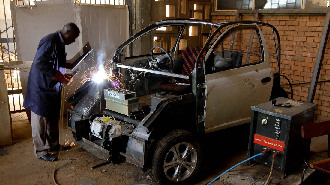 "The ""Kiira EV"" was the first electric car built in Uganda. The project, which was mostly run by students, launched a proof of concept in 2011 and plans to produce its first commercial car by 2018."