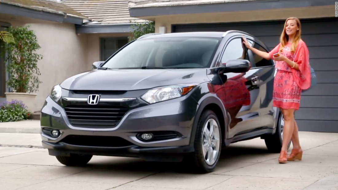 "Honda posted a video advertising its <a href=""http://automobiles.honda.com/hrvselfie/"" target=""_blank"">""HR-V Selfie Edition,""</a> equipped with 10 interior and exterior cameras for more convenient self-portraits -- but not while the car is moving, of course."