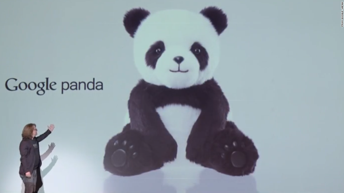 "Google, perhaps the leader in Web-based April Fools' jokes, also posted a video on its Japan site touting <a href=""https://www.youtube.com/watch?v=lI9Qb4PuiOU"" target=""_blank"">Google Panda</a>, a stuffed bear equipped with artificial intelligence and voice recognition. You can hug it <em>and </em>ask it questions."