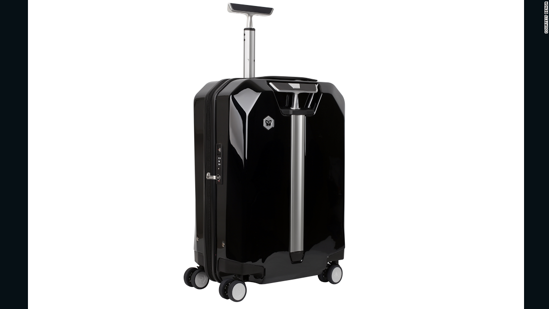 The Benga 2S Duo 2 was voted one of the most innovative products at this year's Travel Goods Showcase. It transforms from one four-wheeled hard-shell suitcase into two two-wheeled rollers, each sporting one hard side and one soft side.