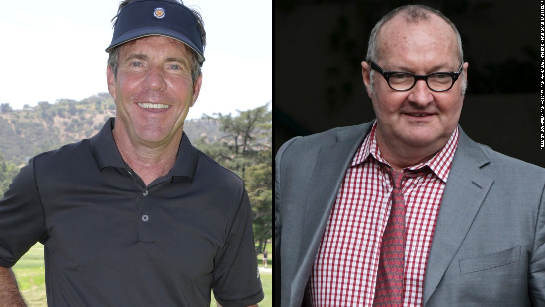 "Dennis Quaid, left, is known as the star of films such as ""Great Balls of Fire,"" ""Wyatt Earp"" and ""The Parent Trap."" His brother, character actor Randy Quaid, has appeared in ""Brokeback Mountain"" and ""Kingpin."""