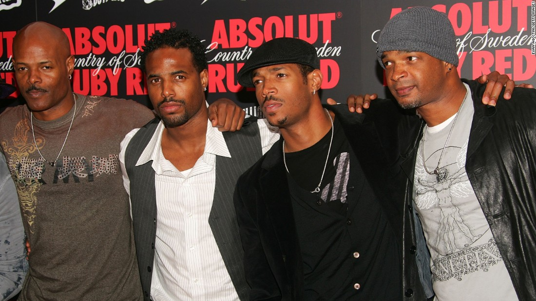 "From left, Keenen Ivory Wayans, Shawn Wayans, Marlon Wayans and Damon Wayans have built a comedic dynasty in Hollywood with shows like ""In Living Color"" and ""The Wayans Bros."" as well as the film spoofs ""I'm Gonna Git You Sucka"" and ""Don't Be a Menace to South Central While Drinking Your Juice in the Hood."""