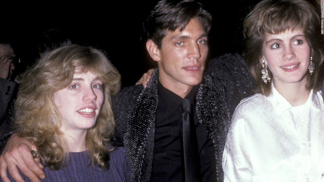 Eric Roberts poses for a photo with a young Julia Roberts, right, and their sister Lisa Roberts Gillan, also an actor. The siblings grew up in Georgia; their parents, Betty Lou Bredemus and Walter Grady Roberts, were actors and playwrights.