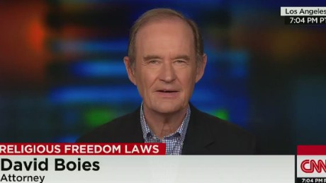 cnn tonight david boies freedom of religion selling pizza _00000608