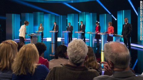 No clear winner emerged in various opinion polls conducted after the ITV Leader's Debate 2015.