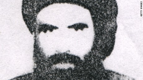 Mullah Omar, chief of the Taliban in Afghanistan, is shown in this undated photo.