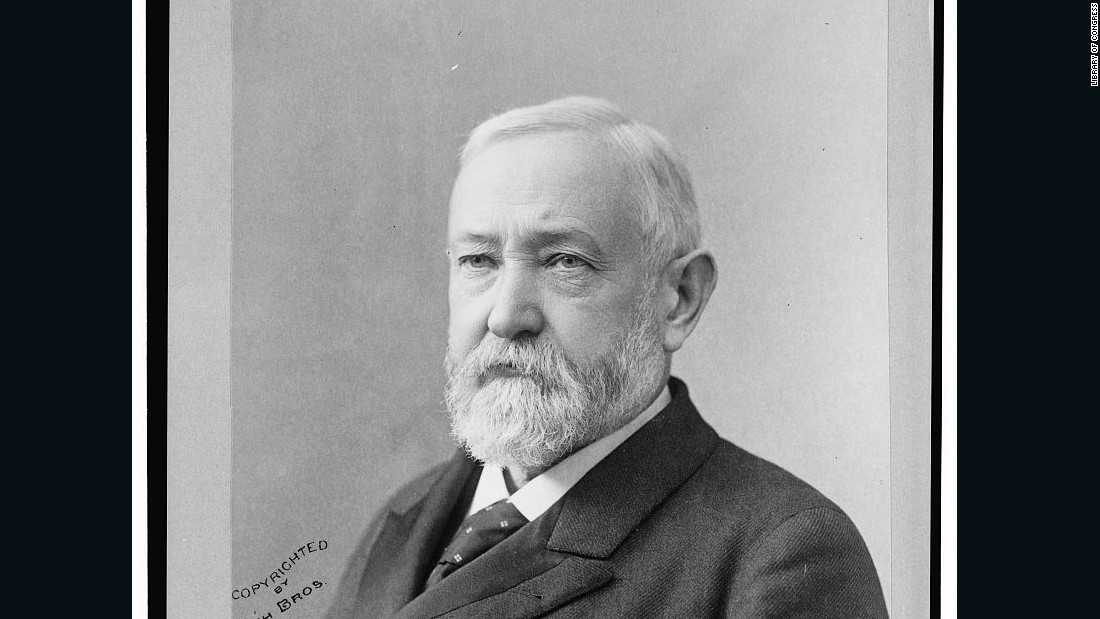 """Rejuvenated Republicanism"" was Benjamin Harrison's slogan in 1888. He served as the 24th president of the United States, defeating incumbent President Grover Cleveland."