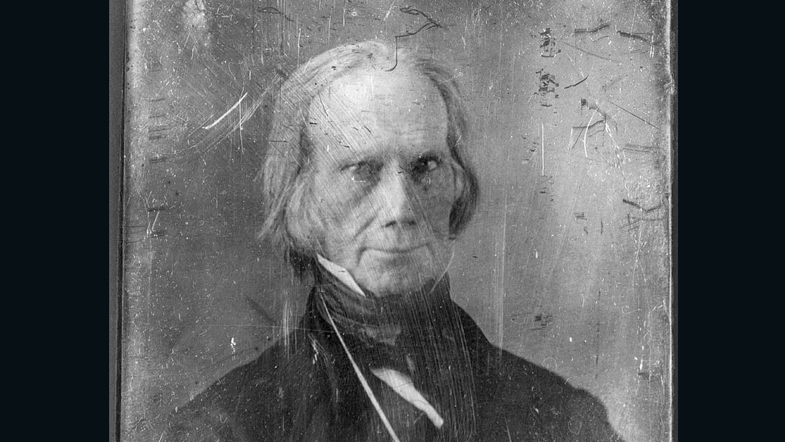 """Who is James K. Polk?"" was Henry Clay's slogan in 1844."