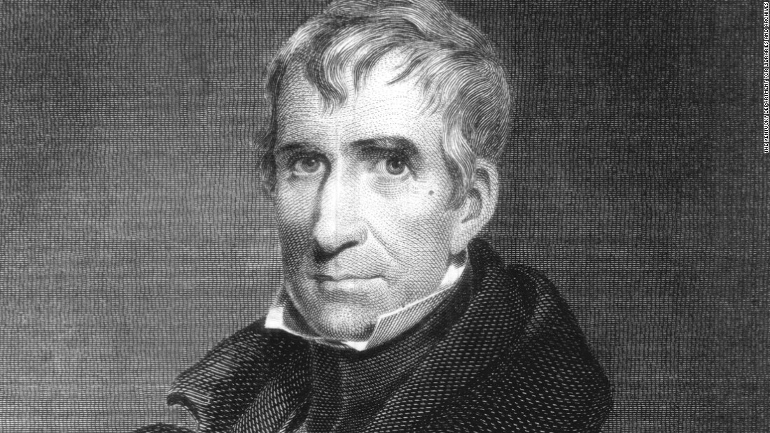 """Tippecanoe and Tyler Too"" was William Henry Harrison's slogan in 1840."
