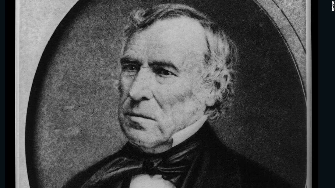 """For President of the People"" was Zachary Taylor's slogan in 1848."