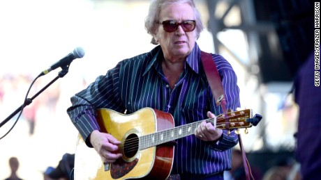 "Don McLean performs in 2014. His song ""American Pie"" goes up for auction Tuesday."