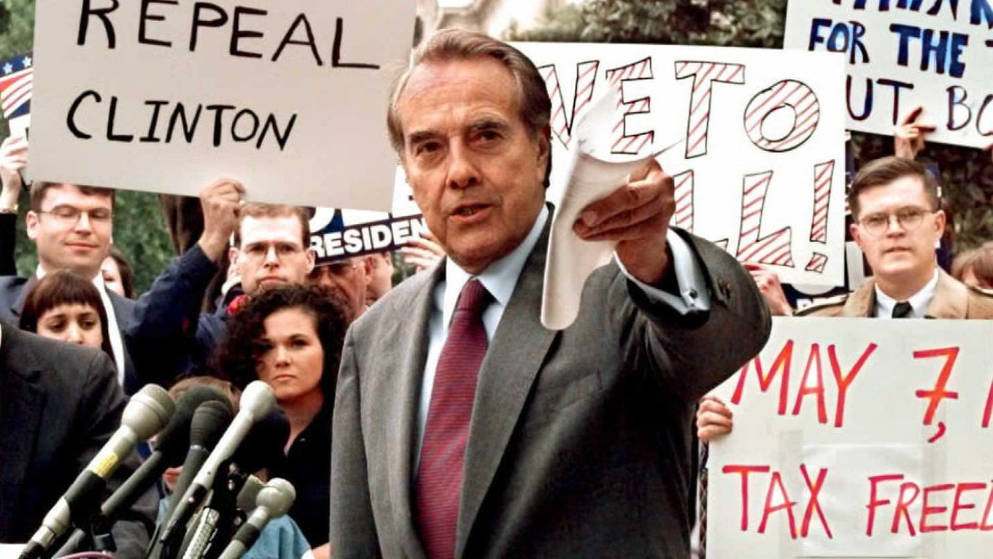 "1996 Republican presidential candidate Bob Dole's campaign slogan was ""The Better Man for a Better America."""