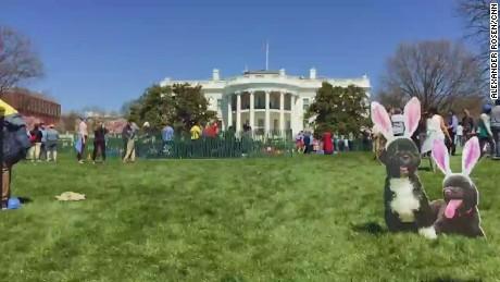 White House Egg Roll Slow Motion AR ORIGWX_00000000