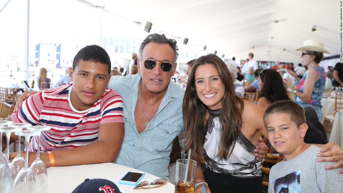 Like his daughter, Bruce Springsteen also enjoys riding, and family holidays often featured trail rides when Jessica was growing up.