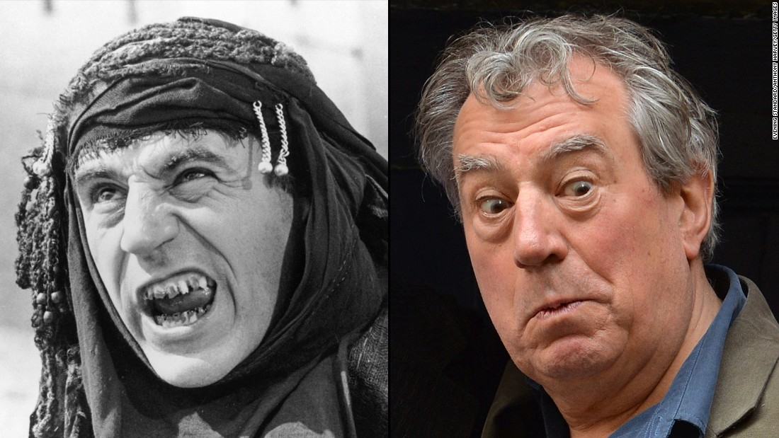 "Terry Jones, 72, has created TV shows about the Middle Ages, an era on which he's an expert. (He's written two books about Geoffrey Chaucer.) He's also written several children's books and was a regular contributor to UK newspapers during the Iraq War,<a href=""http://edition.cnn.com/2005/SHOWBIZ/books/04/12/terry.jones/""> which he opposed</a>. With songwriter Jim Steinman, he's been working on a rock version of ""The Nutcracker,"" ""NUTZ,"" and his film ""Absolutely Anything"" is due out this year."