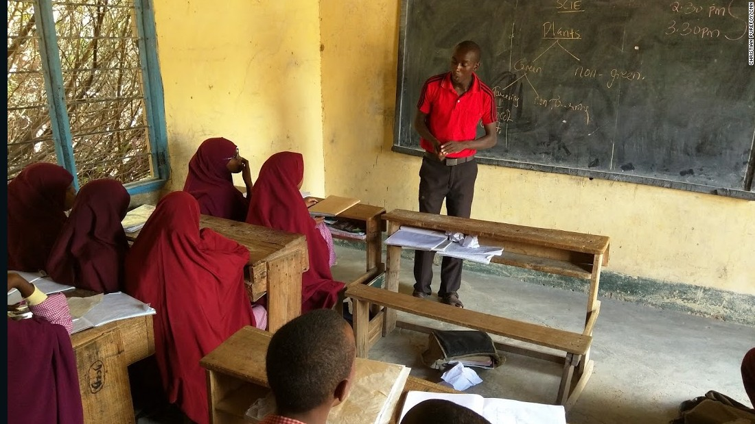 James Ndonye, the headmaster of the school, says five out of 11 teachers have left in the past year amid rising fears of an attack by Al-Shabaab on the school. He has replaced them, but it has not been easy.