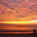 Koh Phayam-long beach sunset