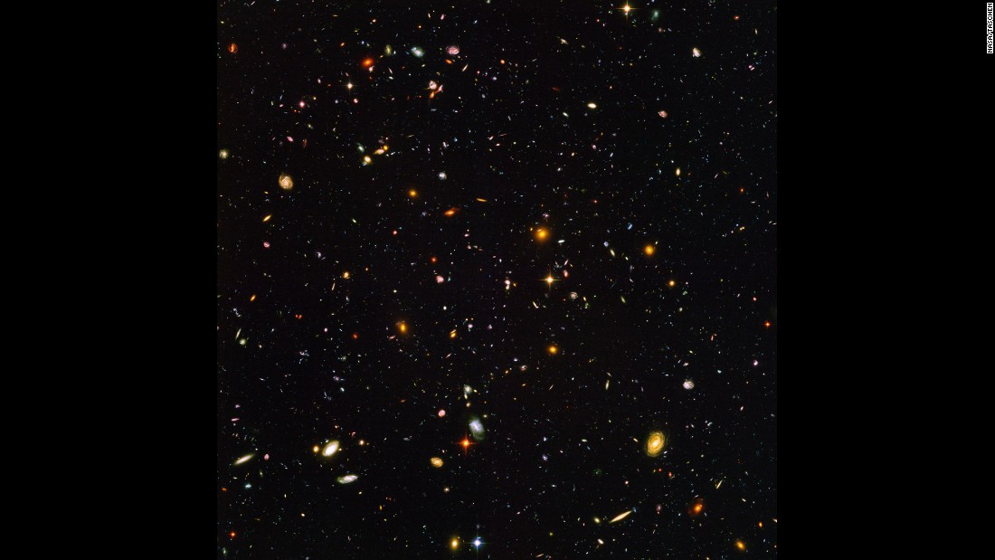 In 2004, astronomers unveiled the deepest portrait of the visible universe ever taken to date. Called the Hubble Ultra-Deep Field, the million-second-long exposure shows the first galaxies to emerge shortly after the Big Bang. The image shows an estimated 10,000 galaxies. In 2012, astronomers assembled an upgraded image called the Hubble eXtreme Deep Field. It combined 10 years of Hubble Space Telescope photographs taken of a patch of sky at the center of the original Hubble Ultra-Deep Field. The new image contains about 5,500 galaxies.