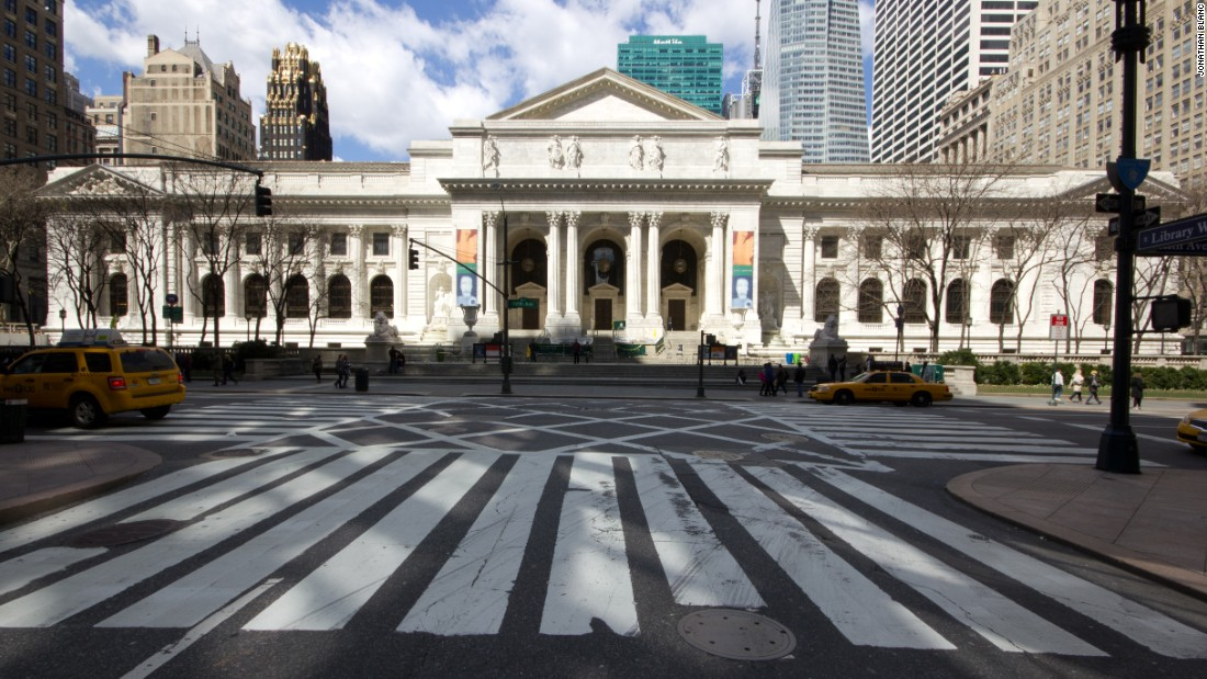 "The<a href=""http://www.nypl.org/about/locations/schwarzman/visitor-guide"" target=""_blank""> Stephen A. Schwarzman Building</a> of the New York Public Library is a Beaux Arts landmark on Fifth Avenue and 42nd Street. Designed by the firm Carrère & Hastings, the library opened to the public in 1911. It houses about 15 million items."