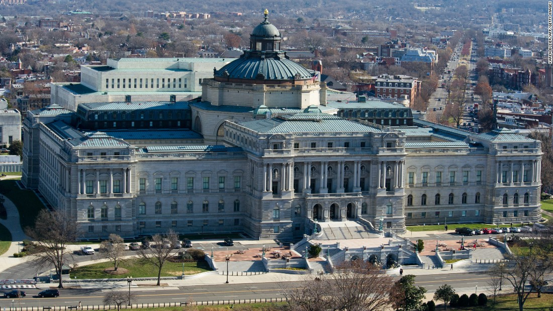 "The current <a href=""http://www.loc.gov/about/"" target=""_blank"">Library of Congress</a> building opened its doors to the public on November 1, 1897. It is the United States' oldest federal cultural institution and the largest library in the world. The library houses more than 36 million books and printed materials, as well as more than 121 million maps, photographs and other items. Free guided tours are offered several times each day."