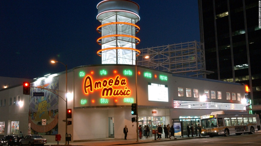 "In the digital era, stores that sell records, CDs and other physical forms of recorded music are a dying breed. But some longtime record stores, many of them local institutions, are still thriving. <a href=""http://www.amoeba.com/"" target=""_blank""><strong>Amoeba Music</a></strong>, founded in 1990 in Berkeley, California, now has locations in San Francisco and Hollywood and bills itself as the ""World's Largest Independent Record Store."""