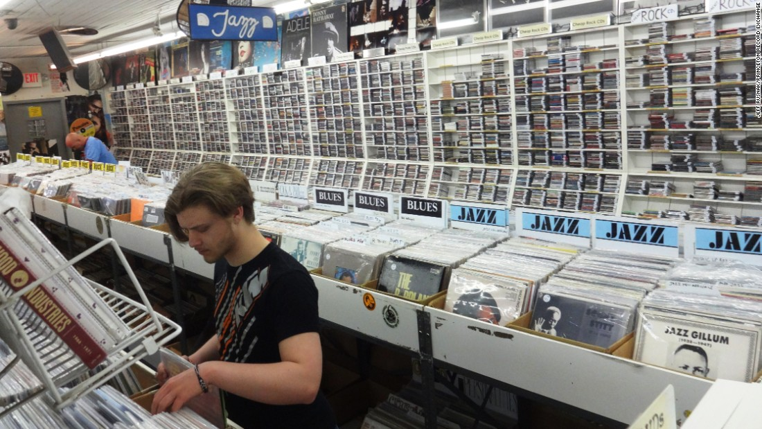 "<a href=""http://www.prex.com/"" target=""_blank""><strong>Princeton Record Exchange</a></strong>, across the street from the Princeton University campus in Princeton, New Jersey, boasts more than 140,000 new and used CDs, DVDs and vinyl records. The store opened in 1980."