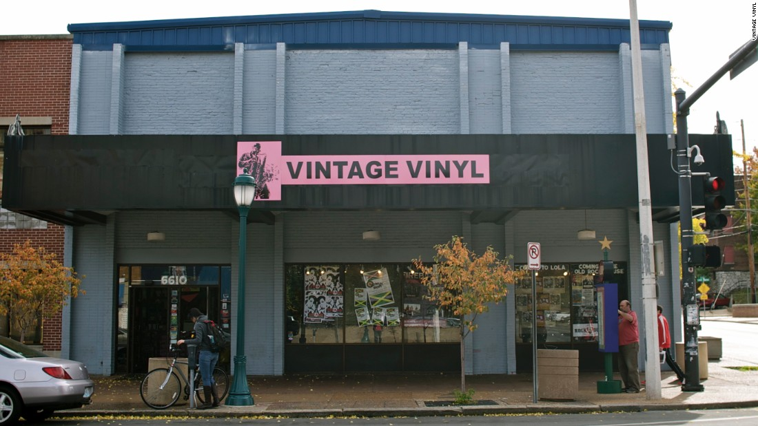 "<a href=""http://www.vintagevinyl.com/"" target=""_blank""><strong>Vintage Vinyl</a></strong> was founded by two buddies in 1979 as a booth at a farmer's market. Today it's one of St. Louis' classic record stores, stocking everything from rock to gospel to reggae to Latin jazz."