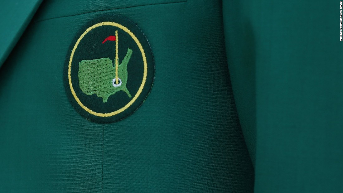 A close-up shot of a coveted member's jacket at one of the world's most prestigious and exclusive golf clubs, Augusta National in Atlanta, Georgia.