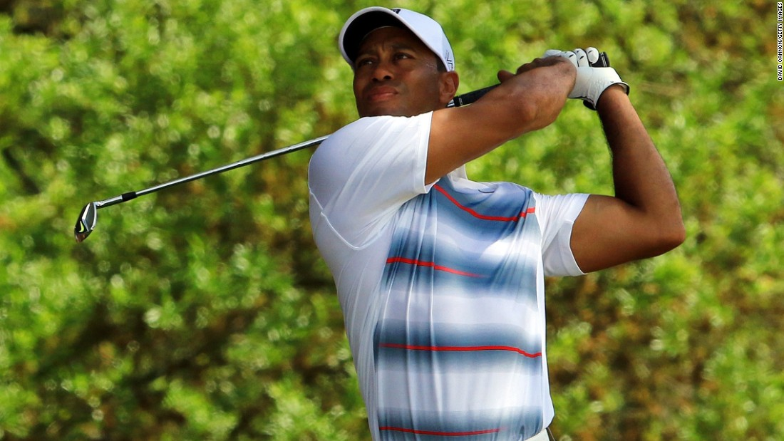 "Tiger Woods, making his return from injury, dropped a shot on his opening hole of the Masters Thursday but made it back with a birdie at the second. <a href=""http://www.pga.com/masters/scoring/leaderboard"" target=""_blank"">(See leaderboard)</a>"