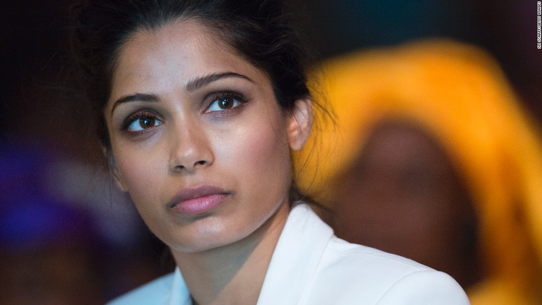 Freida Pinto: This is revolutionary - CNN.com Freida Pinto